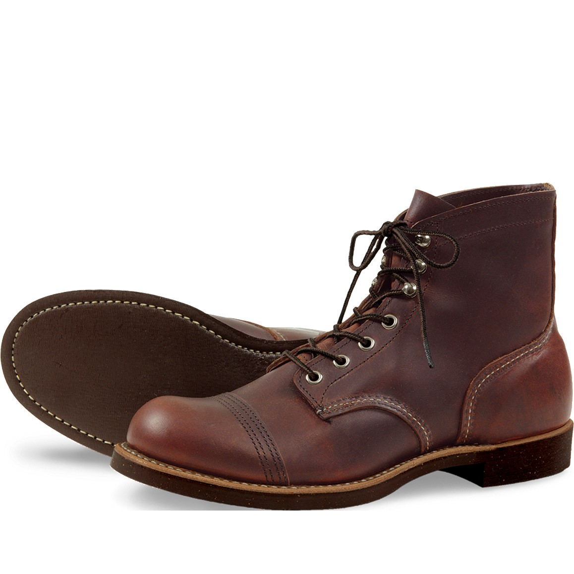 Red Wing 8111 Iron Ranger Marron fonc�