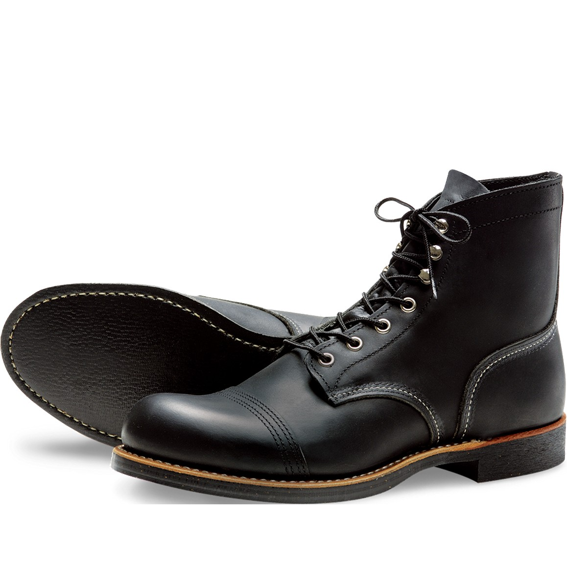 Red Wing 8114 Iron Ranger Noir
