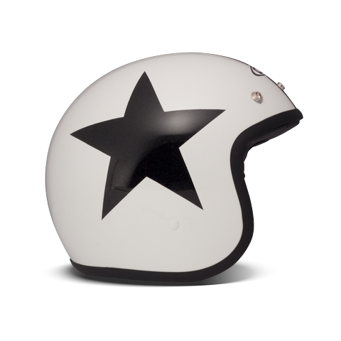 Casque Jet DMD STAR BLANC