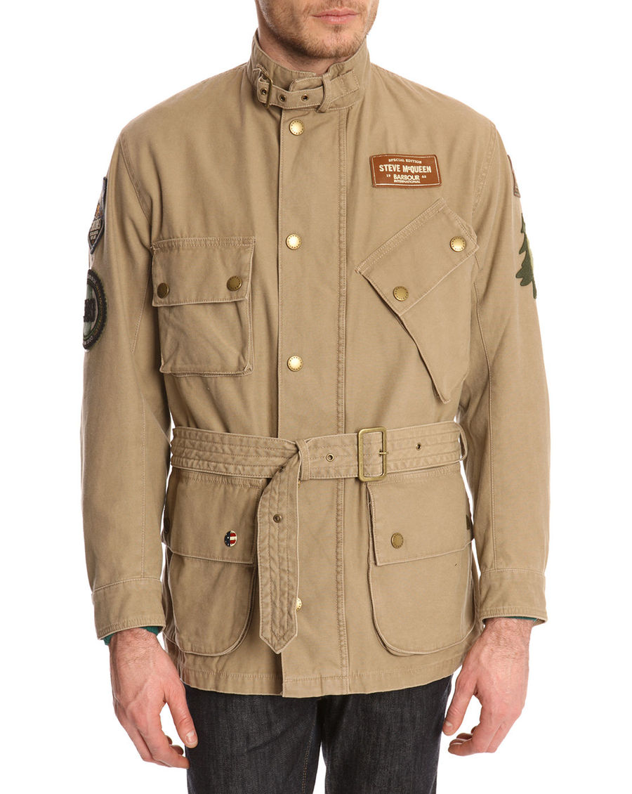 Barbour Casual Baker Sandstone 2014