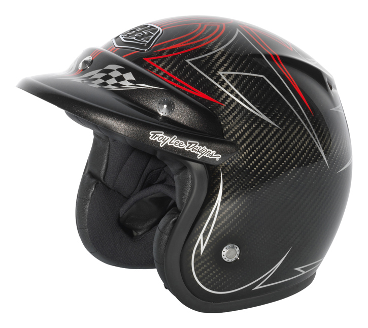 Troy Lee Design PINSTRIPE Carbone
