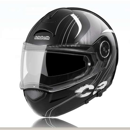 SCHUBERTH C3 STRIPES Noir