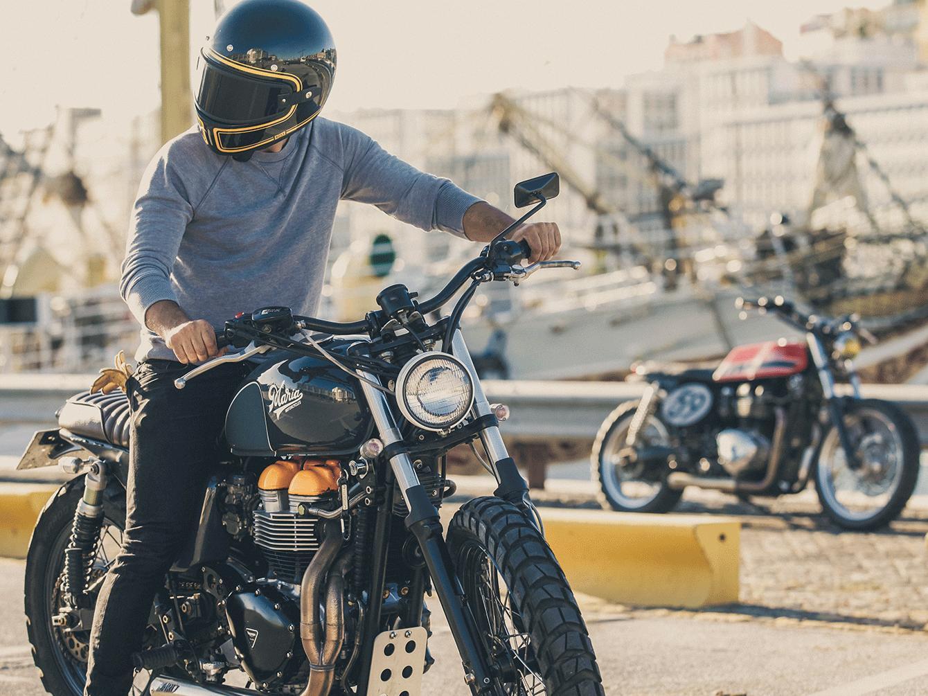 Bonneville And Son >> NEXX x Vintage Motors - Vintage Motors Magazine - Blog moto vintage, lifestyle et actualité
