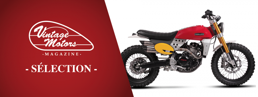 Retrouvez les sélection vintage : moto, prêt-à-porter...