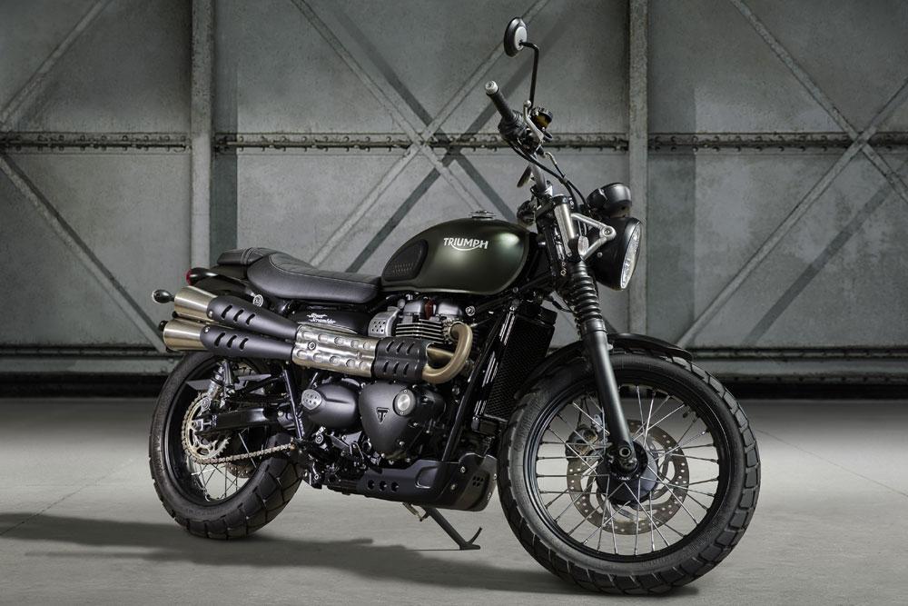 moto vintage neuve