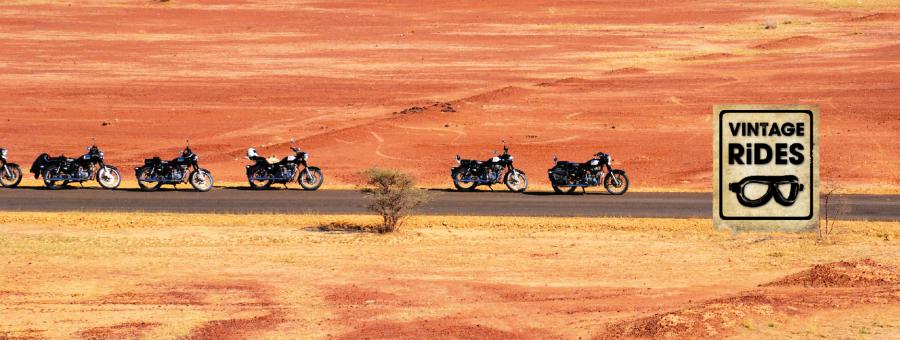 Voyage à moto Royal Enfield