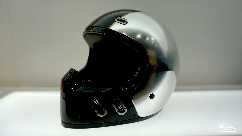 Casque Moto Jaune Cafe Racer