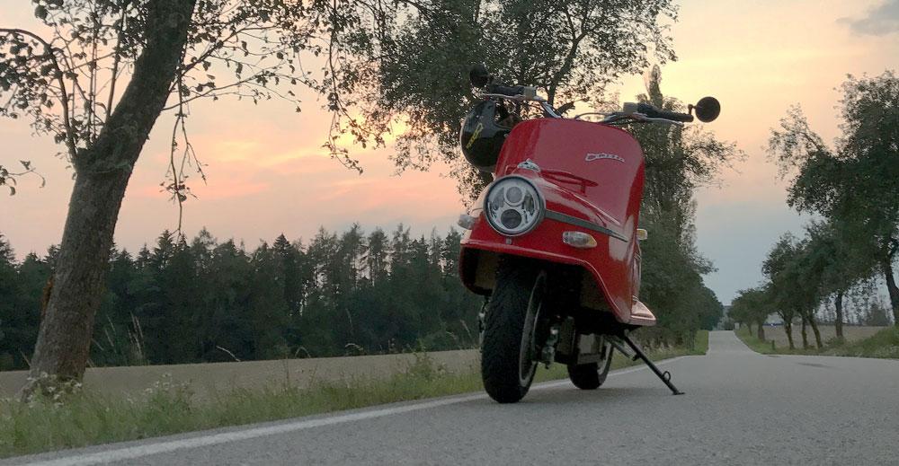 Cezeta Type 506_The thrill of the open road