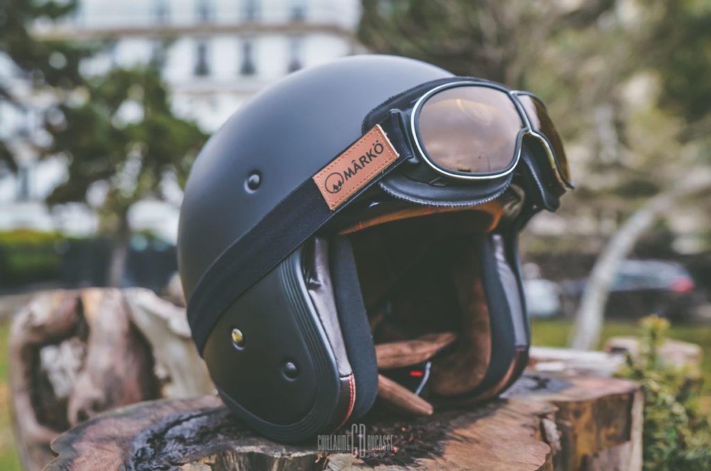 casque moto marko et B3 Goggle Replica