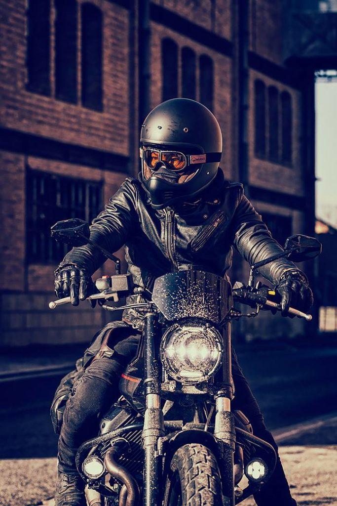 casque moto et masque Marko