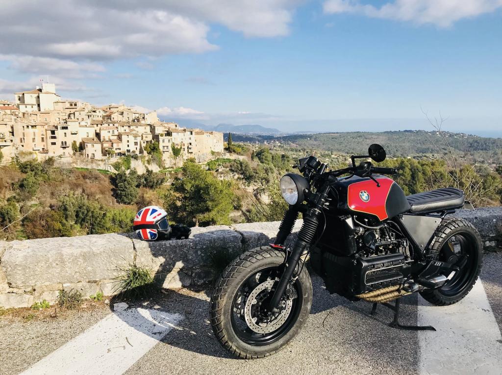 moto préparé en scrambler par Duke Motorcycles