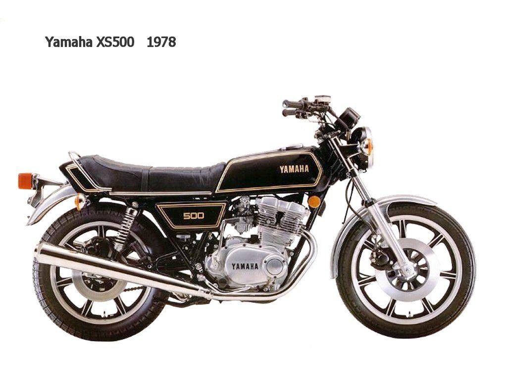 YAMAHA XS 500 de 1978