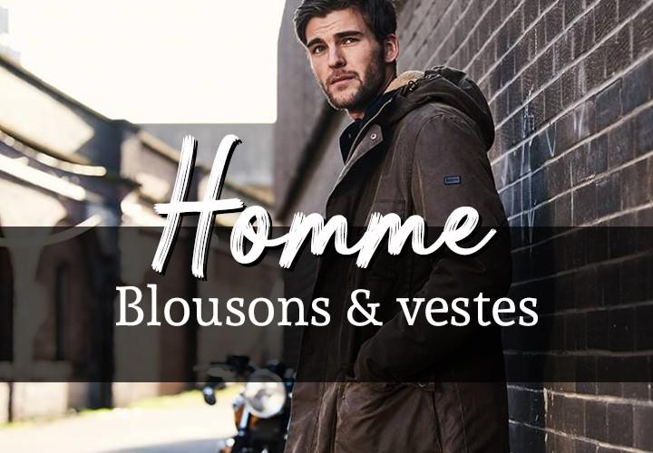 Blousons et Vestes Homme